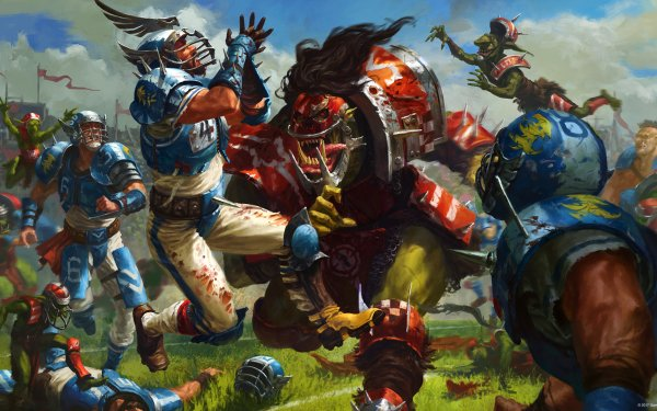 Video Game Blood Bowl Warhammer HD Wallpaper | Background Image