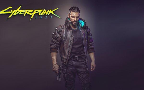 Men Cosplay Cyberpunk 2077 HD Wallpaper | Background Image