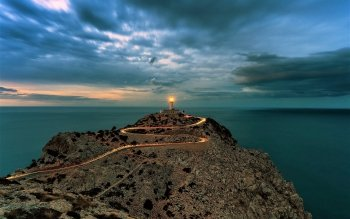951 Lighthouse Hd Wallpapers Background Images Wallpaper