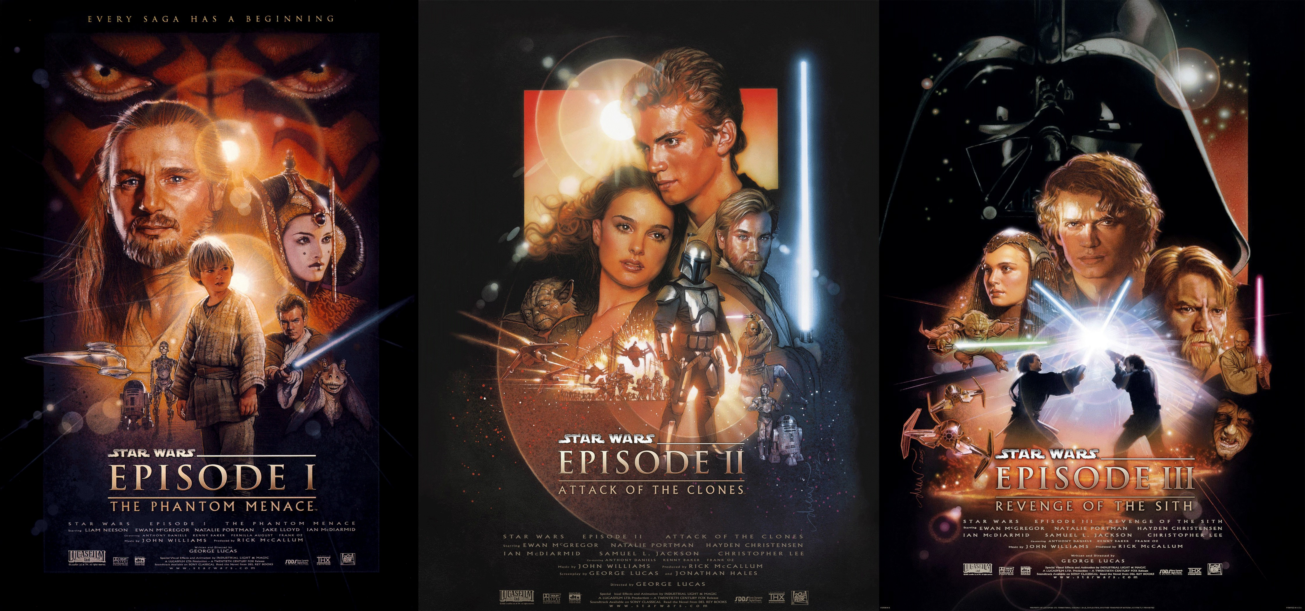 Star Wars Prequel Trilogy Hd Wallpaper Background Image 4487x2100 Id 932878 Wallpaper Abyss