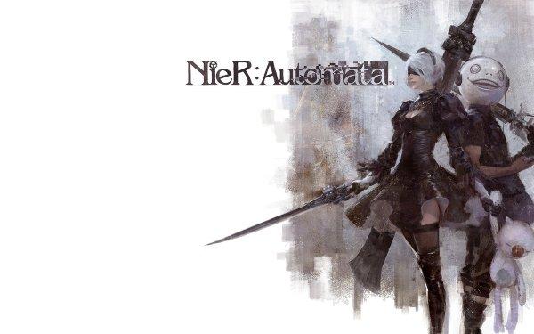 Video Game NieR: Automata Final Fantasy XV Noctis Lucis Caelum HD Wallpaper   Background Image