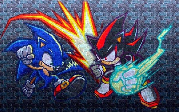 Video Game Sonic Battle Sonic Shadow the Hedgehog Sega Sonic the Hedgehog HD Wallpaper | Background Image