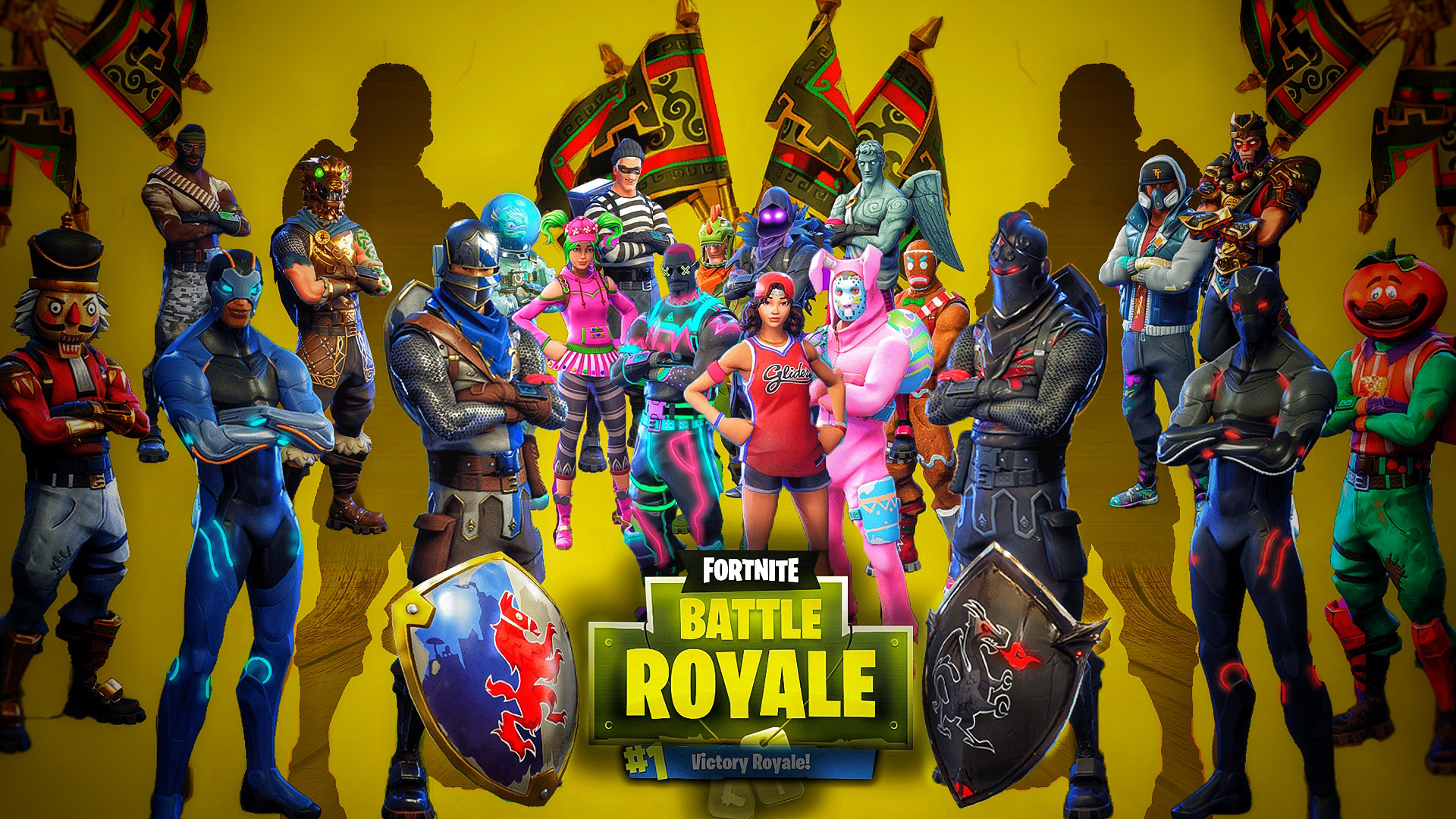 Fortnite Battle Royale - Wallpaper // Tapeta Fondo de pantalla HD | Fondo de Escritorio ...
