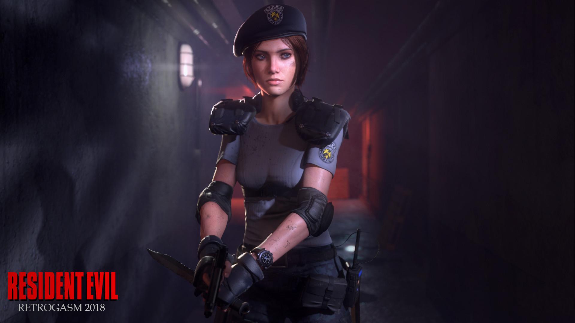 Resident Evil Hd Wallpaper Background Image 1920x1080
