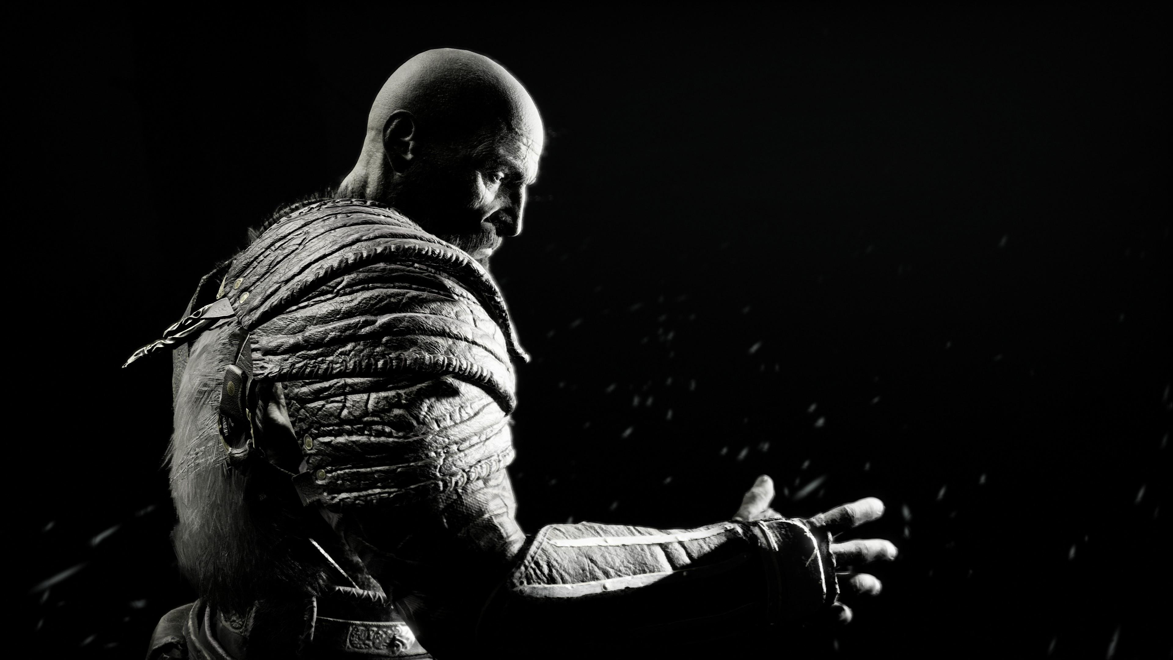 God Of War 2018 4k Ultra Hd Wallpaper Background Image