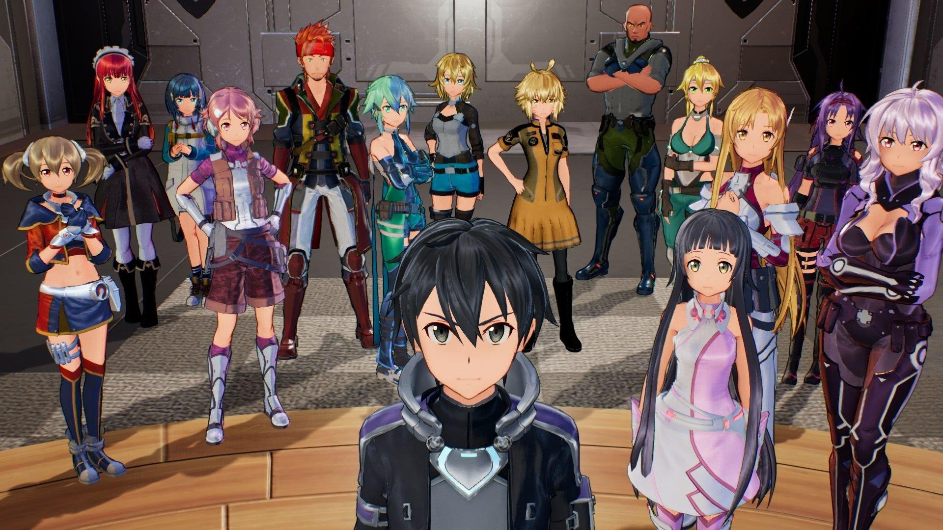Sword Art Online Fatal Bullet Hd Wallpaper Background Image