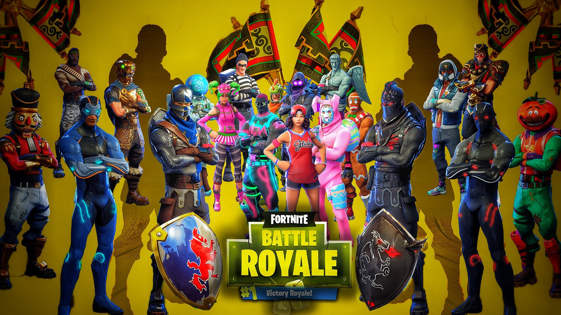 Fortnite Battle Royale Wallpaper Tapeta Hd Wallpaper Background Image 1920x1080 Id 934290 Wallpaper Abyss