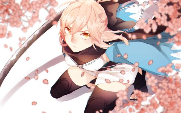 Anime Fate/Grand Order Fate Series Sakura Saber HD Wallpaper   Background Image