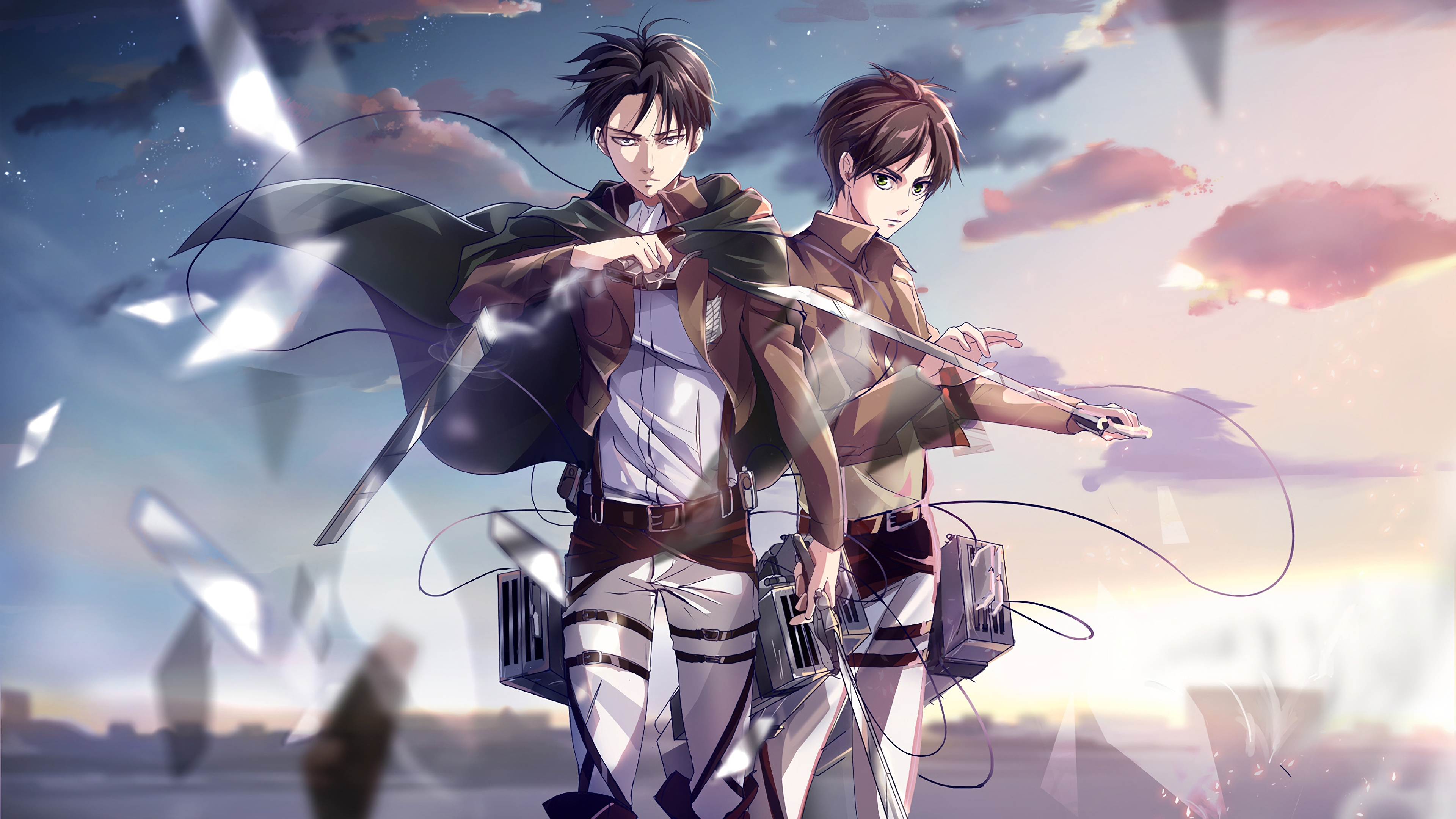 Attack On Titan 4k Ultra Hd Wallpaper Background Image 3840x2160 Id 937873 Wallpaper Abyss