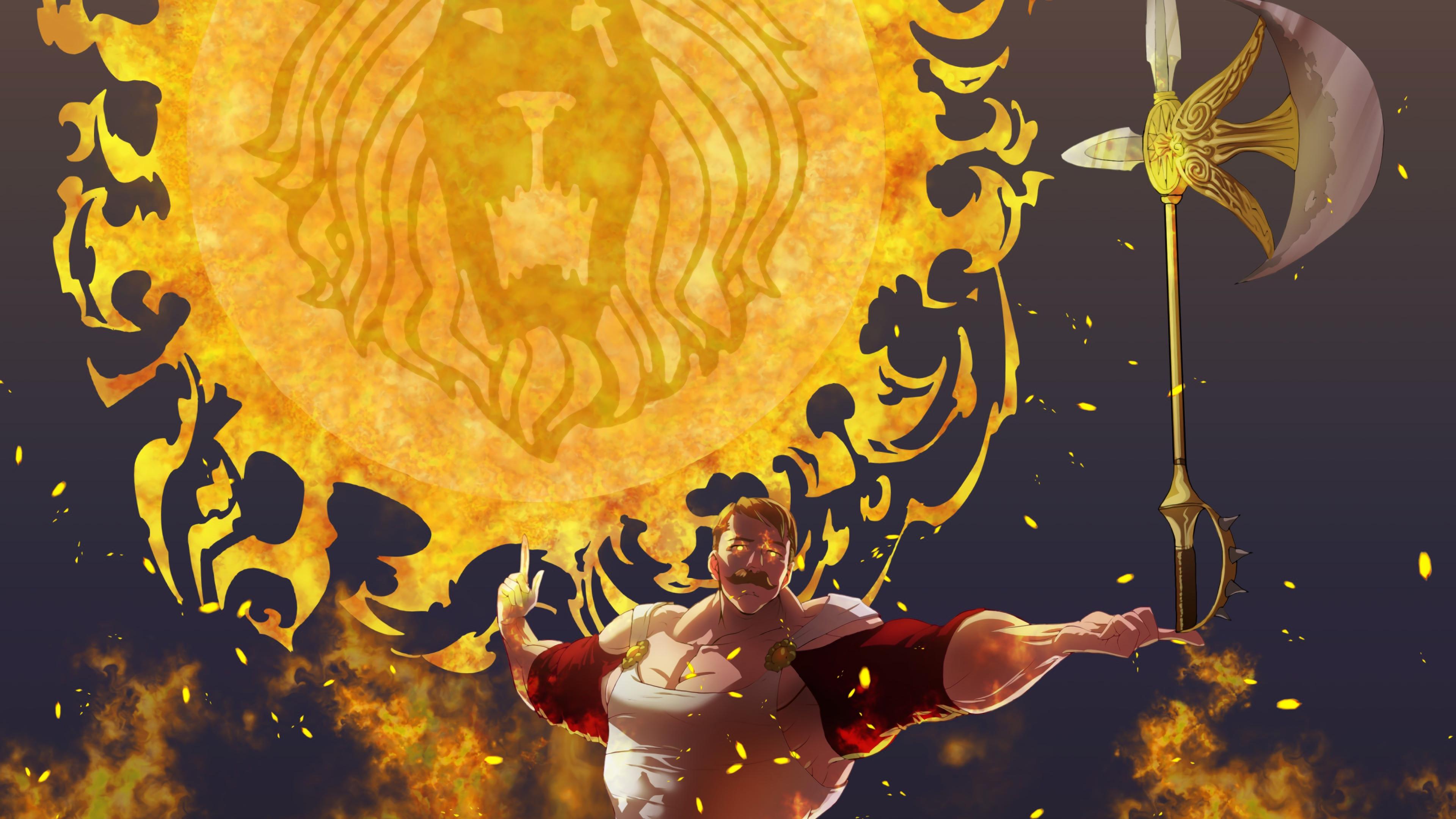 The Seven Deadly Sins 4k Ultra HD Wallpaper | Background ...