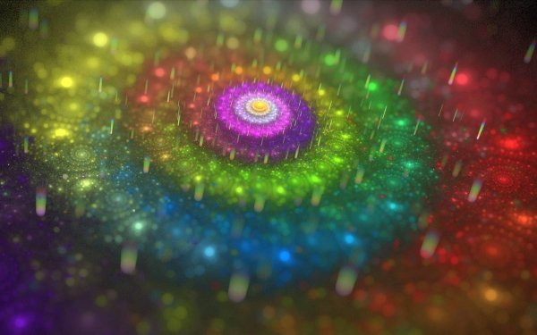 Abstract Fractal Colors Swirl HD Wallpaper | Background Image