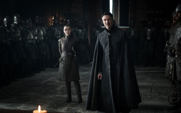 TV Show Game Of Thrones Petyr Baelish Arya Stark Maisie Williams Aidan Gillen HD Wallpaper | Background Image