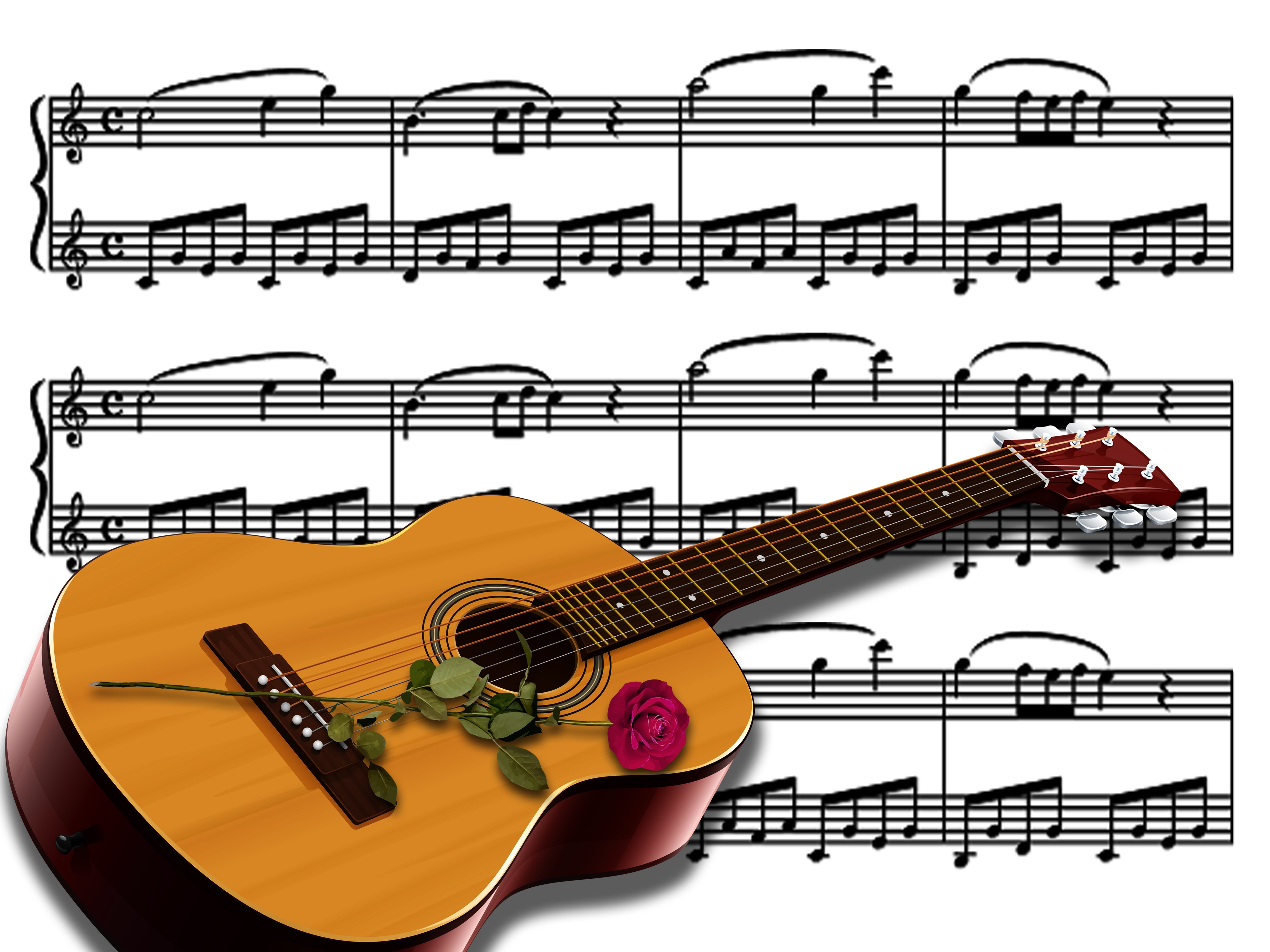 Guitarra 4k Ultra Fondo De Pantalla Hd Fondo De Escritorio 4000x3000 Id 939847 Wallpaper Abyss