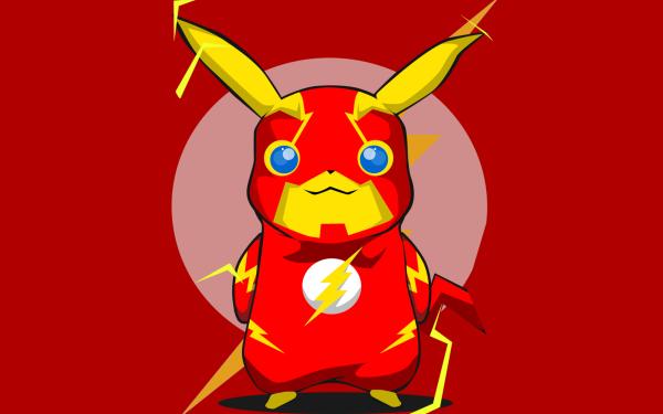 Anime Pokémon Pikachu Original Minimalist HD Wallpaper   Background Image