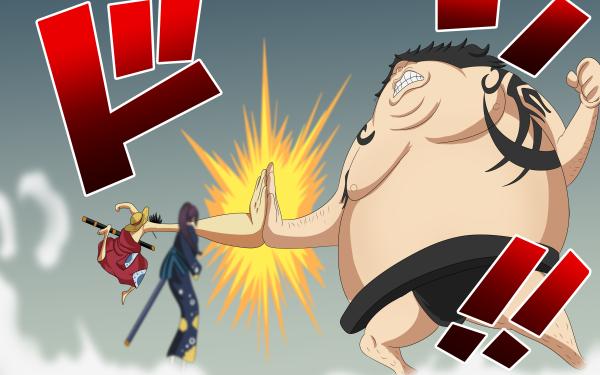 Anime One Piece Urashima Monkey D. Luffy Kiku HD Wallpaper | Background Image