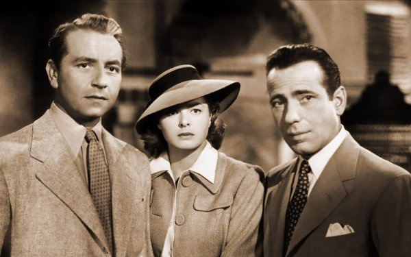 Movie Casablanca  Humphrey Bogart Ingrid Bergman HD Wallpaper | Background Image