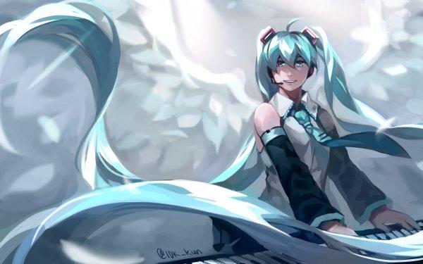 Anime Vocaloid Hatsune Miku HD Wallpaper   Background Image