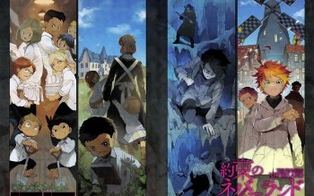 75 The Promised Neverland Hd Wallpapers Background Images Wallpaper Abyss