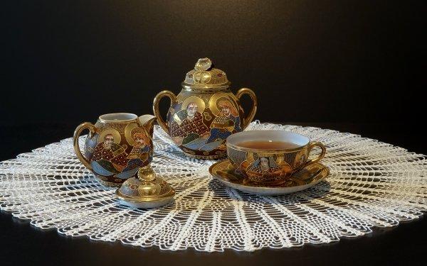 Food Tea Teapot Still Life Drink HD Wallpaper | Background Image