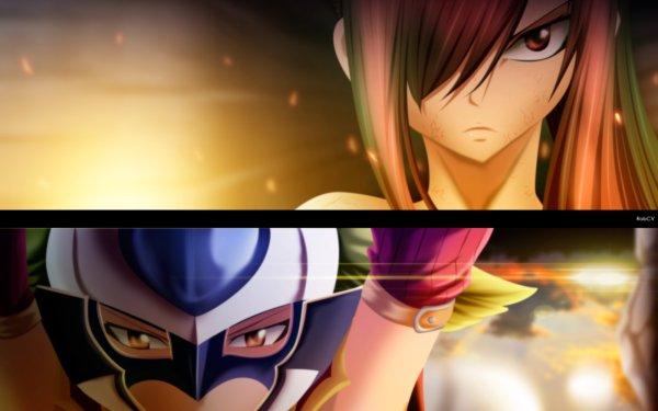 Anime Fairy Tail Erza Scarlet Kyôka HD Wallpaper | Background Image