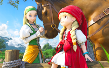 133 Dragon Quest Xi Hd Wallpapers Background Images Wallpaper