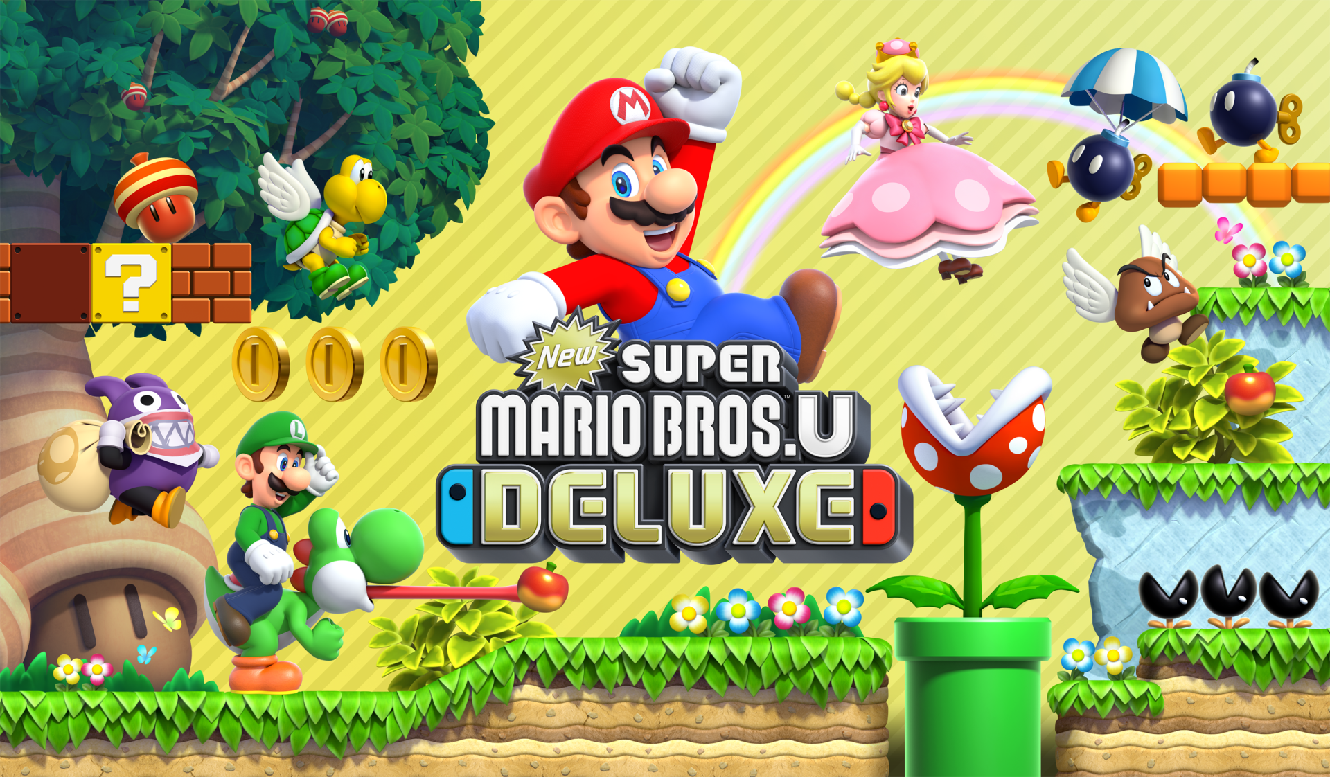 4 New Super Mario Bros U Deluxe Hd Wallpapers Background Images