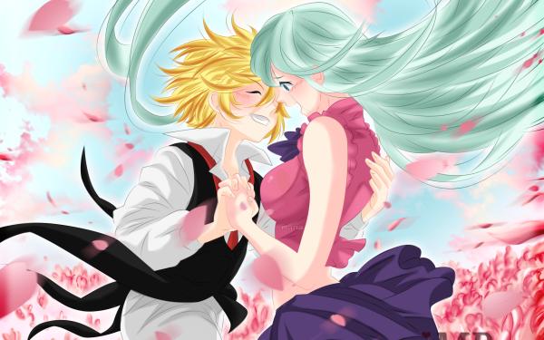 Anime The Seven Deadly Sins Elizabeth Liones Meliodas HD Wallpaper | Background Image