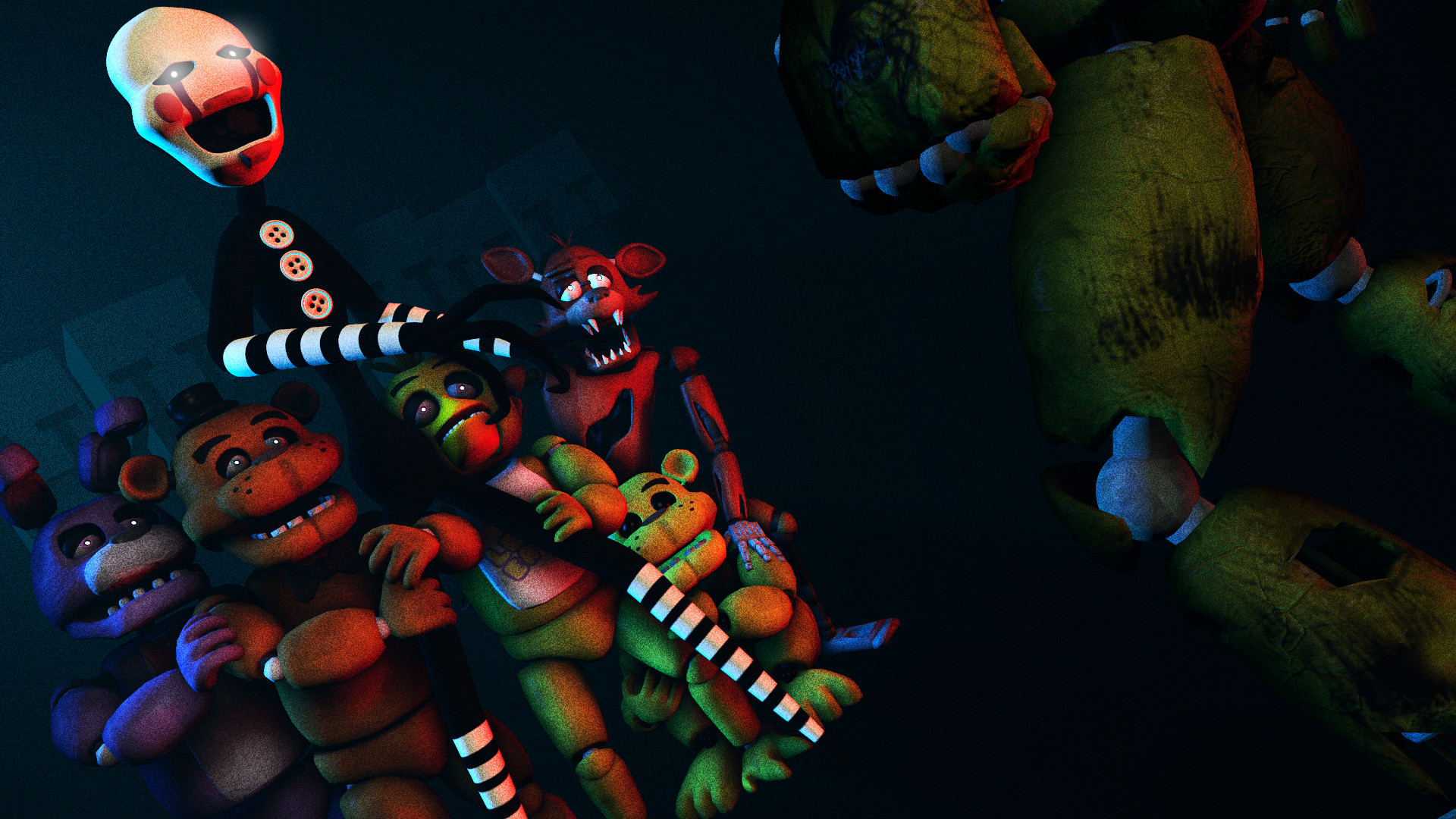 Five Nights At Freddy S Hd Wallpaper Background Image