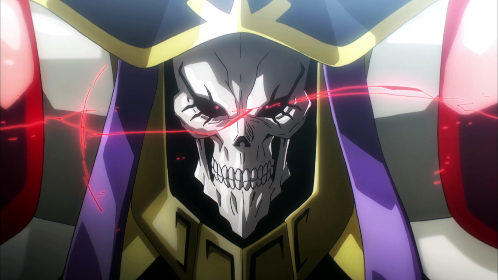 Ainz Ooal Gown Magic Caster Hd Wallpaper Background Image 1920x1080 Id 952646 Wallpaper Abyss