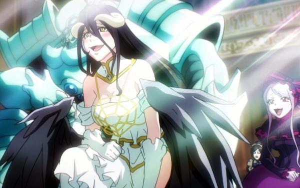 Anime Overlord Albedo Shalltear Bloodfallen Cocytus HD Wallpaper | Background Image