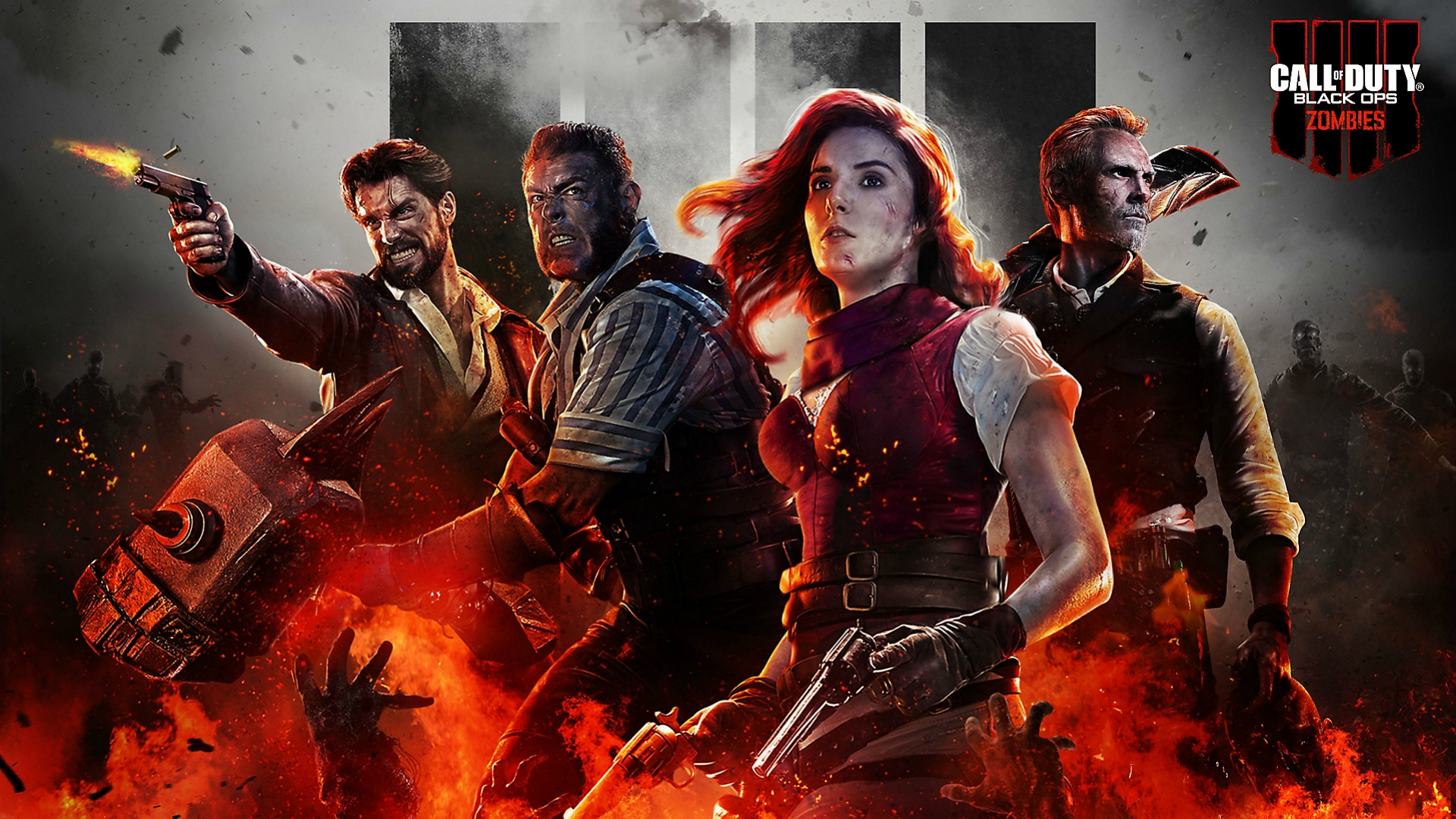 Call Of Duty Black Ops 4 Zombies Hd Wallpaper Hintergrund