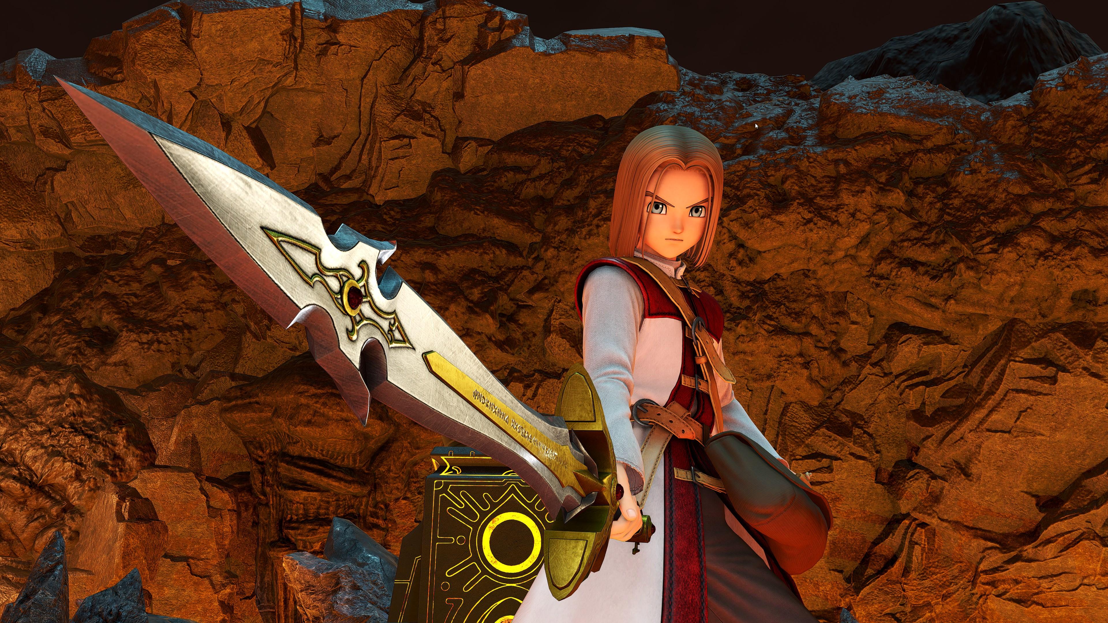 Dragon Quest XI 4k Ultra HD Wallpaper | Background Image ...