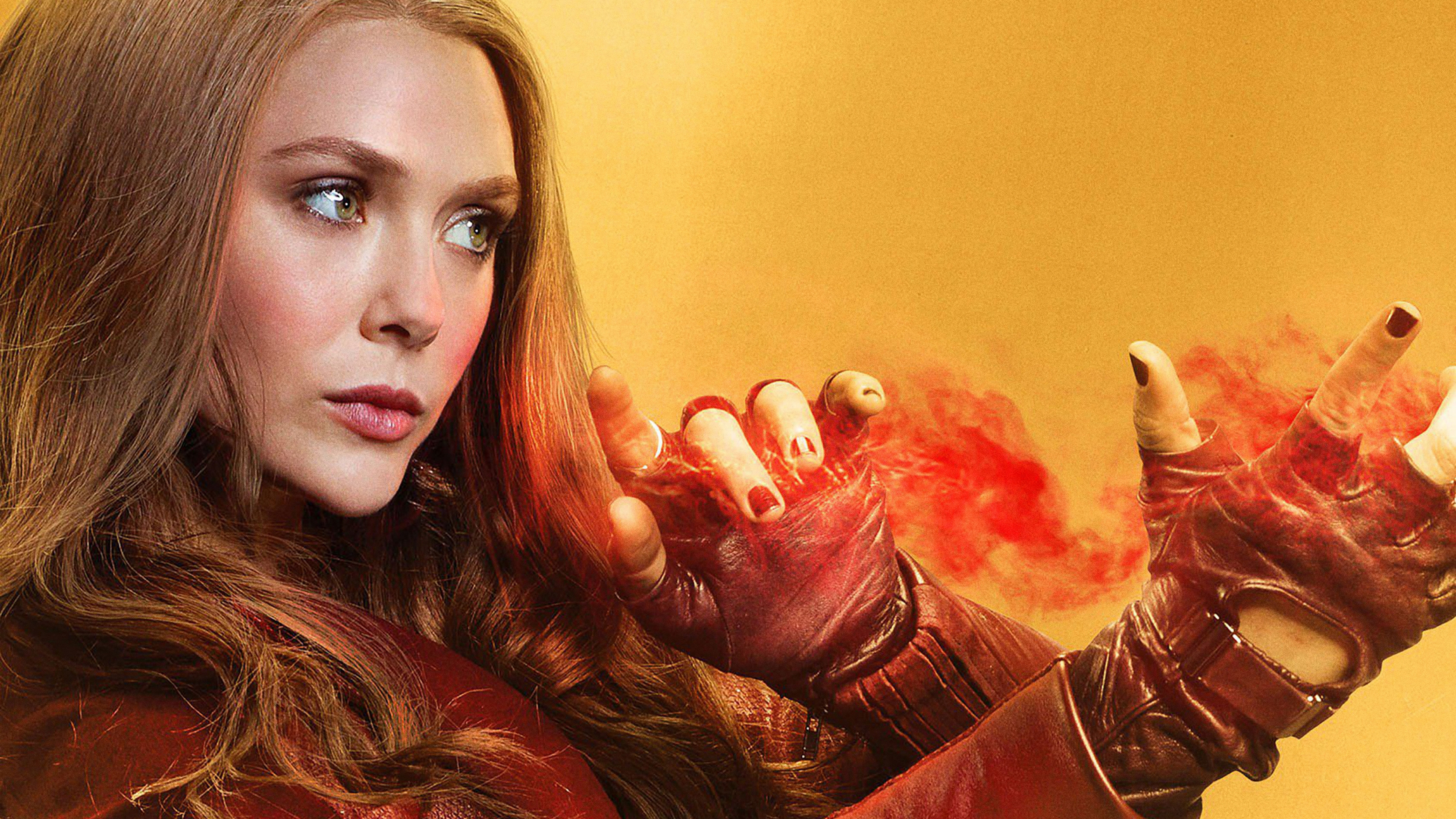Scarlet Witch Hd Wallpaper Background Image 3376x1899 Id