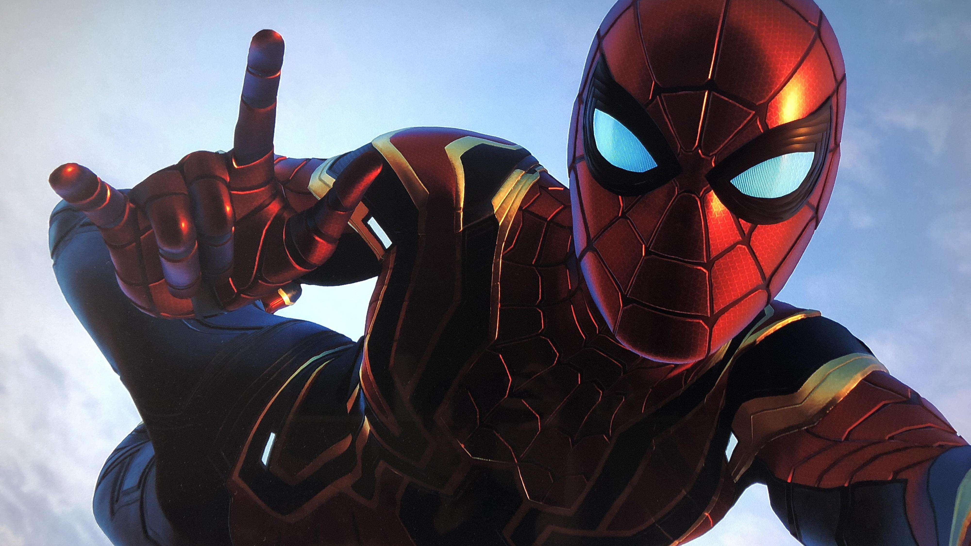Spider Man Ps4 4k Ultra Hd Wallpaper Hintergrund