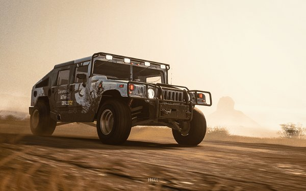 Video Game The Crew 2 Hummer H1 Hummer HD Wallpaper   Background Image