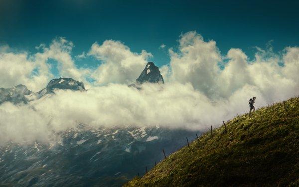 Sports Hiking Landscape HD Wallpaper   Background Image
