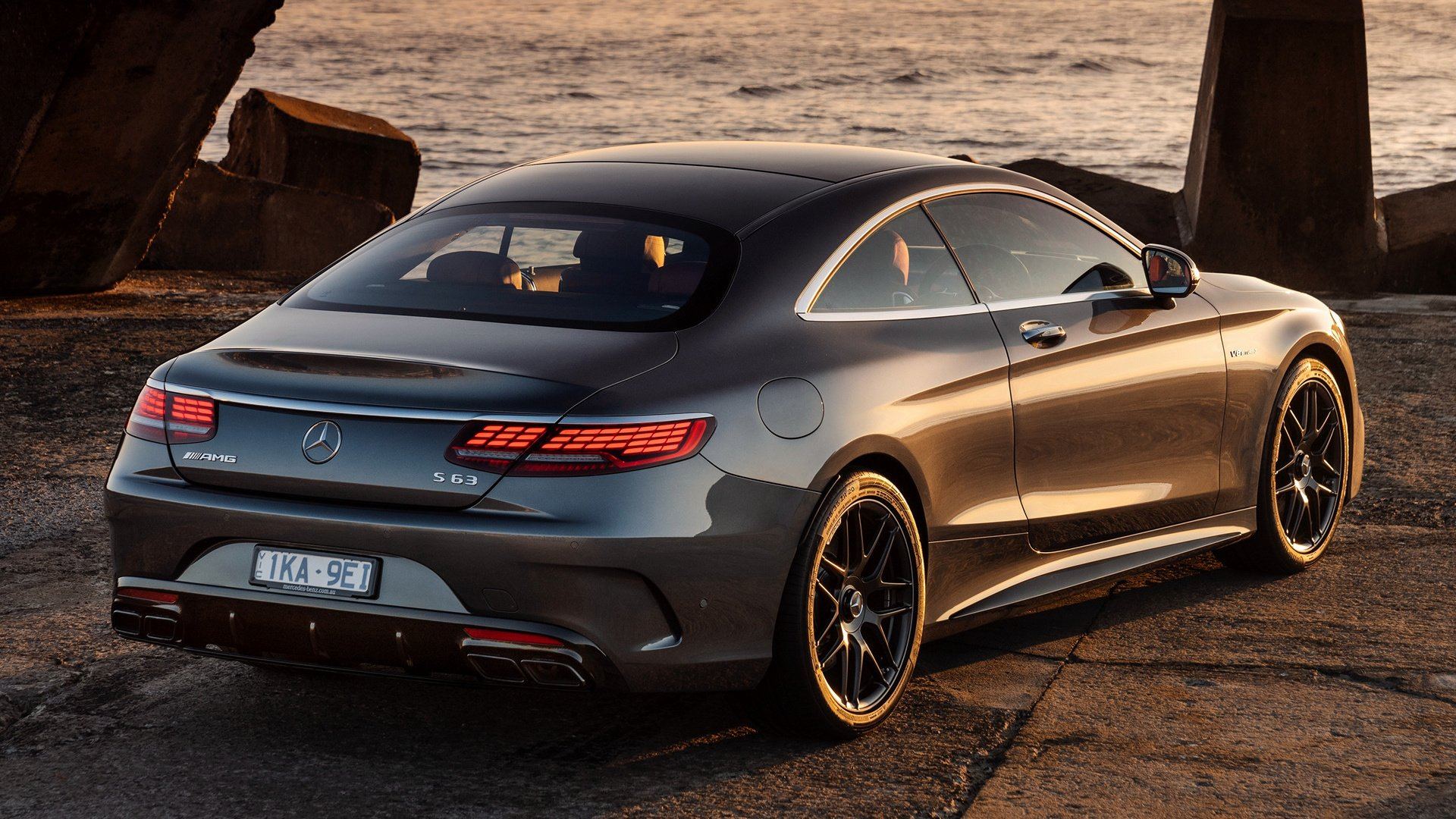 2018 Mercedes-AMG S 63 Coupe HD Wallpaper | Background Image