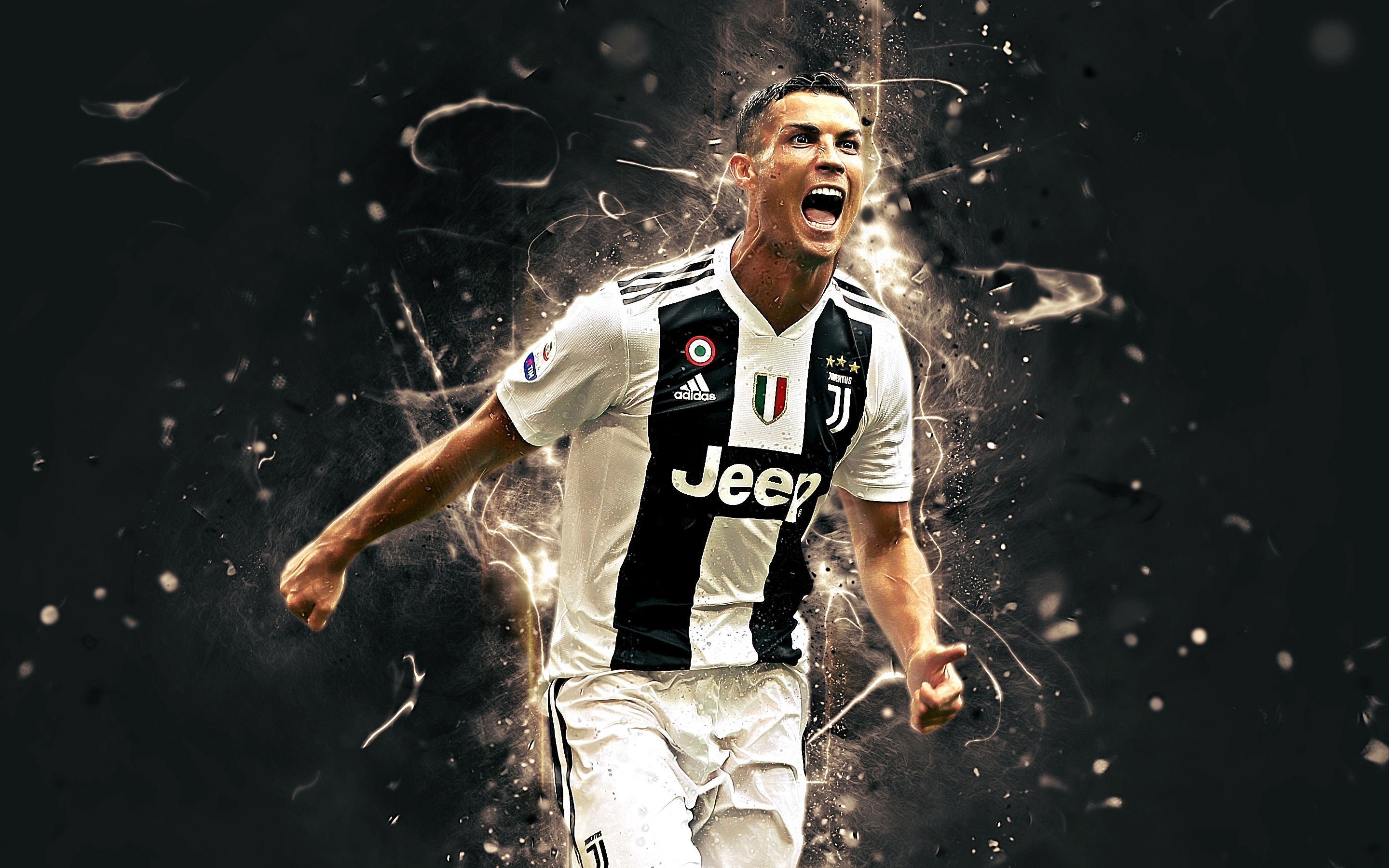 Art Of Cristiano Ronaldo Fans Wallpaper Sport Soccer: Cristiano Ronaldo - Juventus HD Wallpaper
