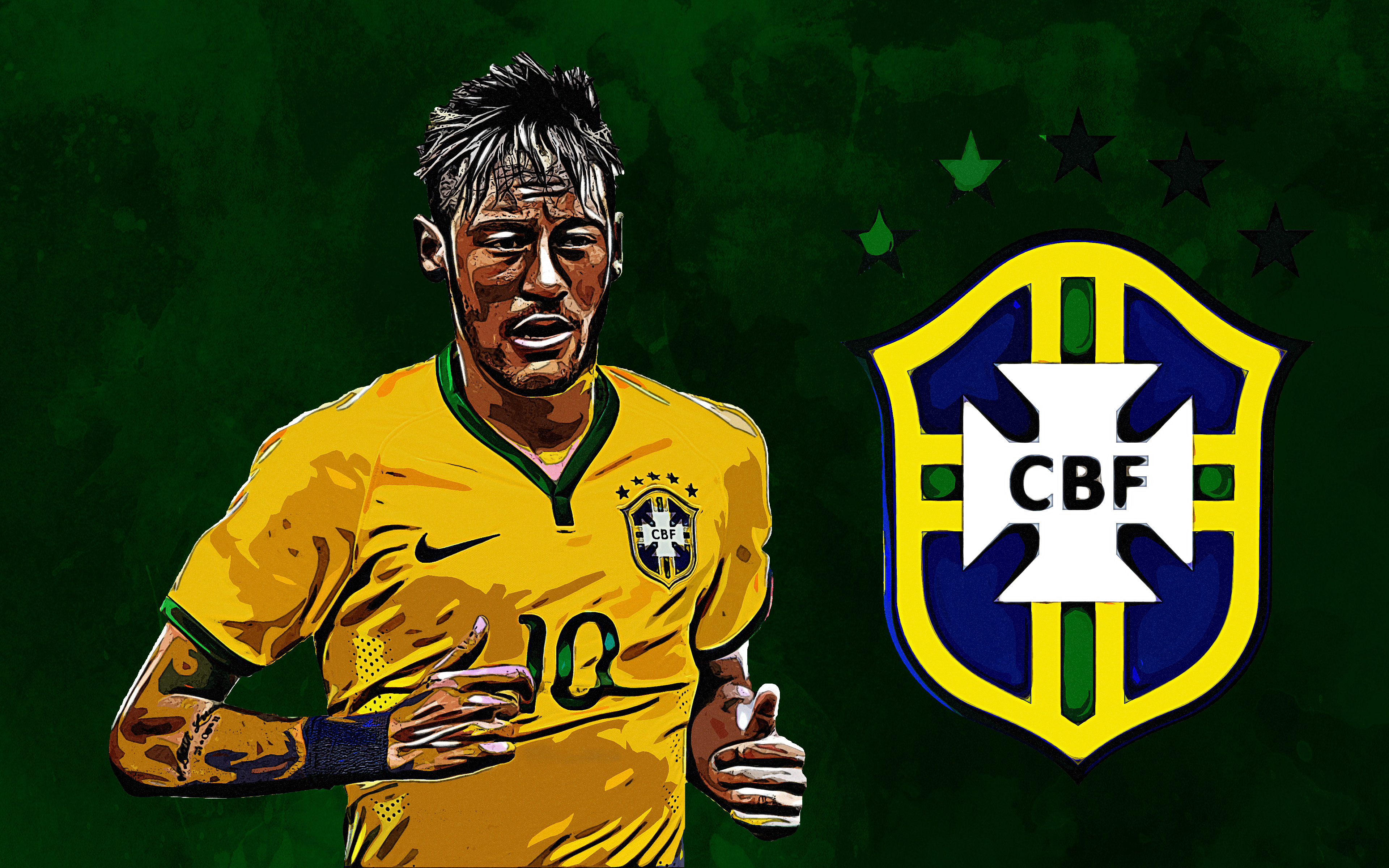 Neymar Jr - Brazil 4k Ultra HD Wallpaper | Background ...