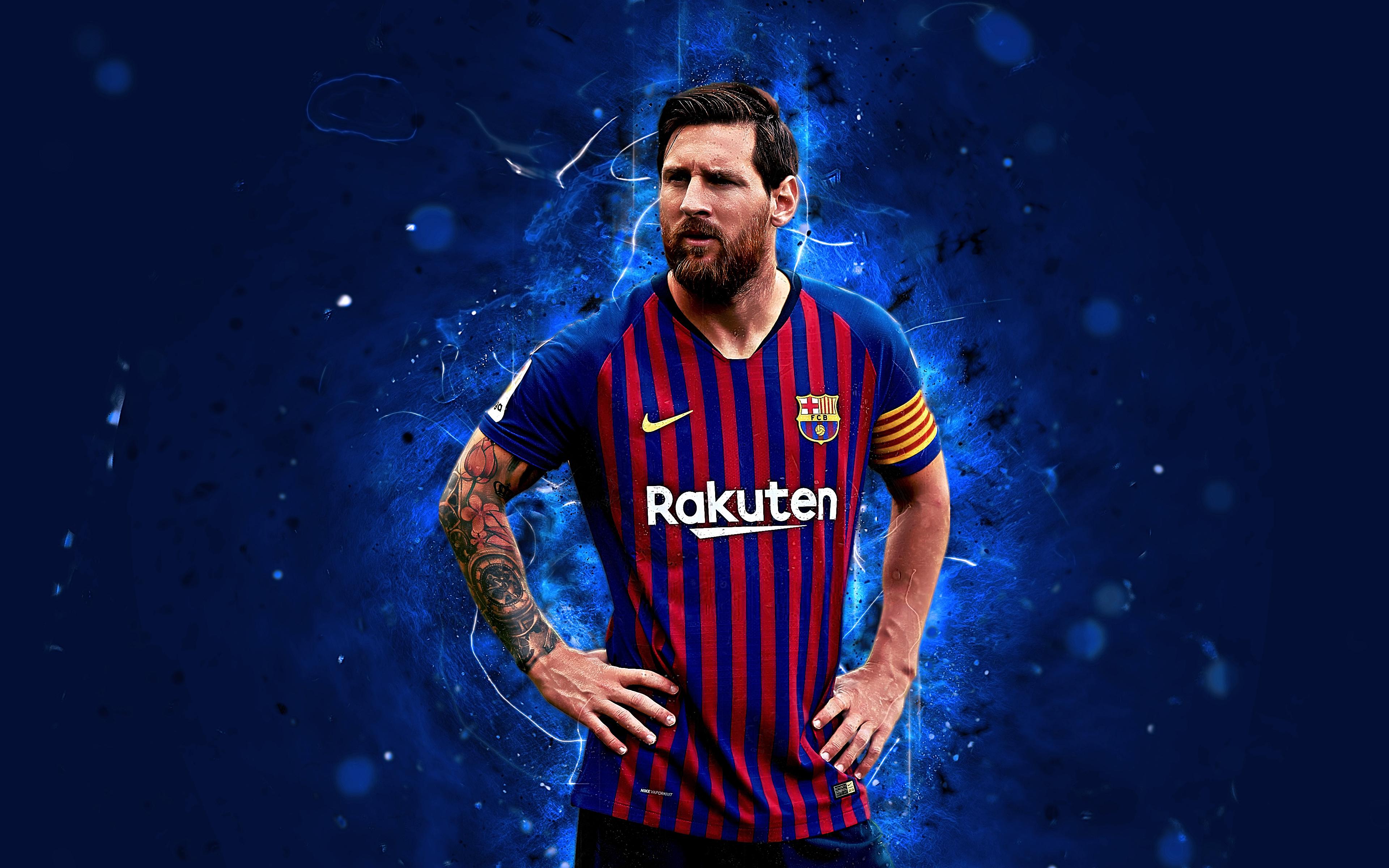 Lionel Messi - Barca 4k Ultra HD Wallpaper | Background ...