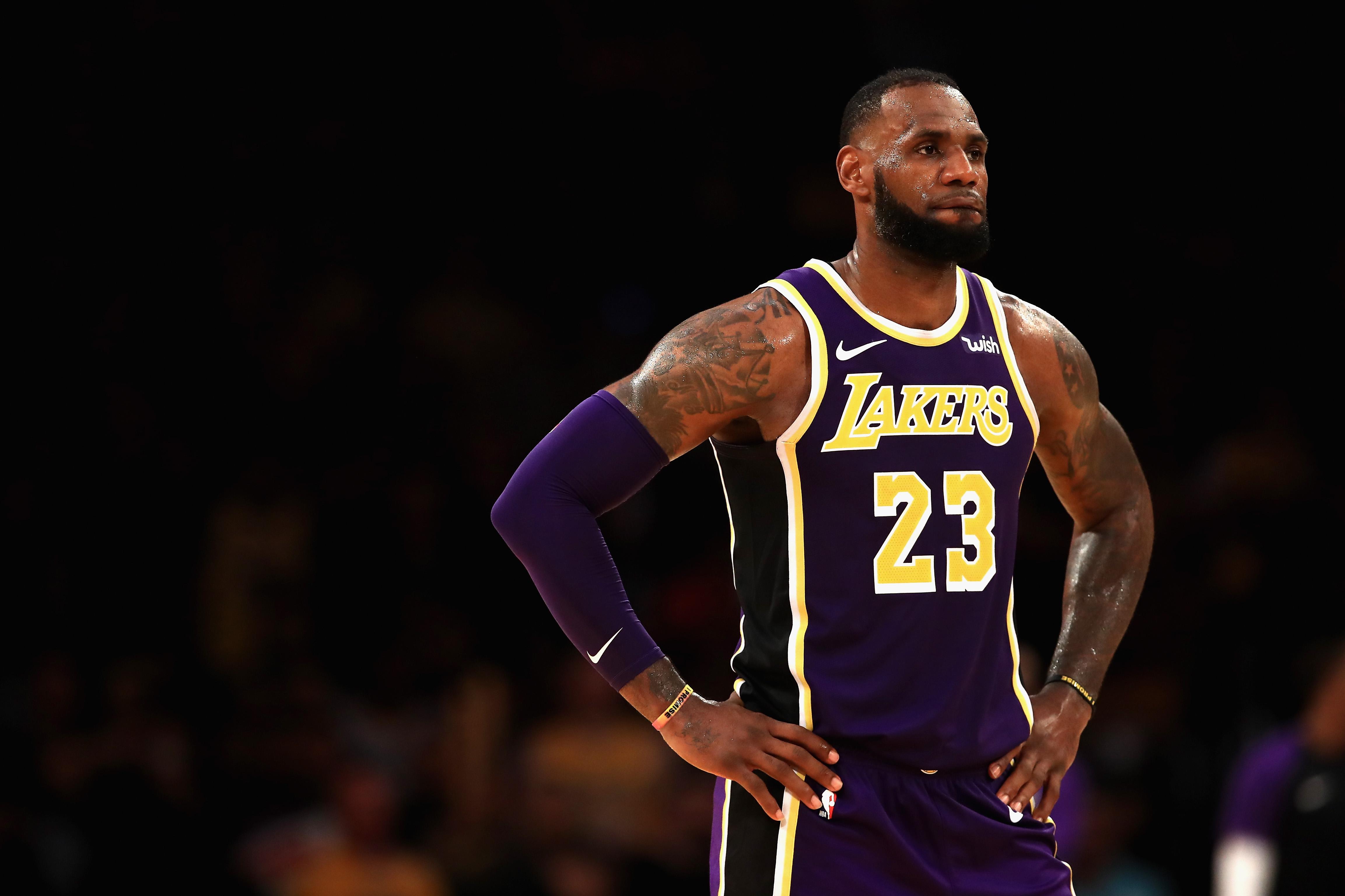 LeBron James - LA Lakers 4k Ultra HD