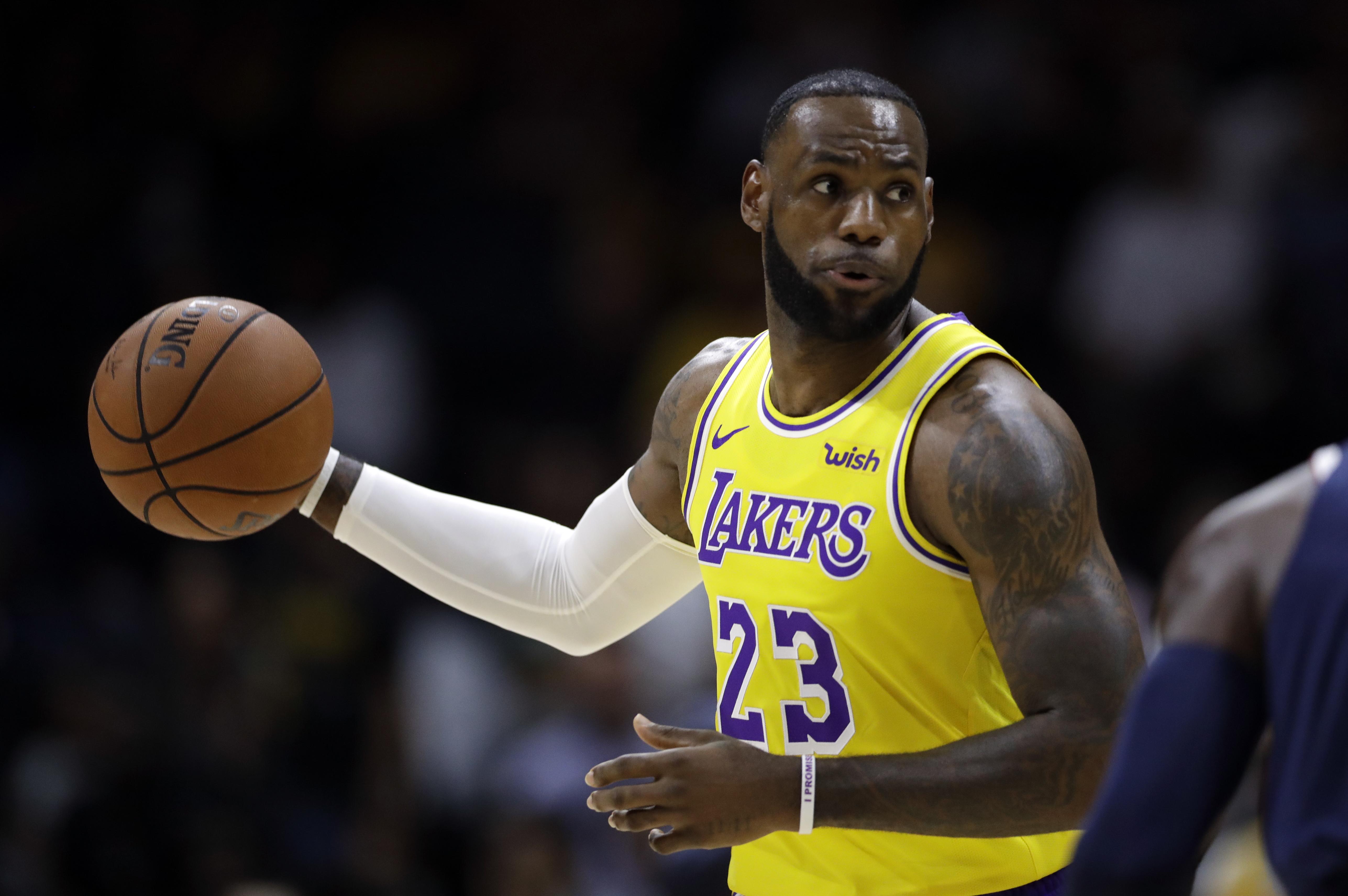 LeBron James - LA Lakers 5k Retina