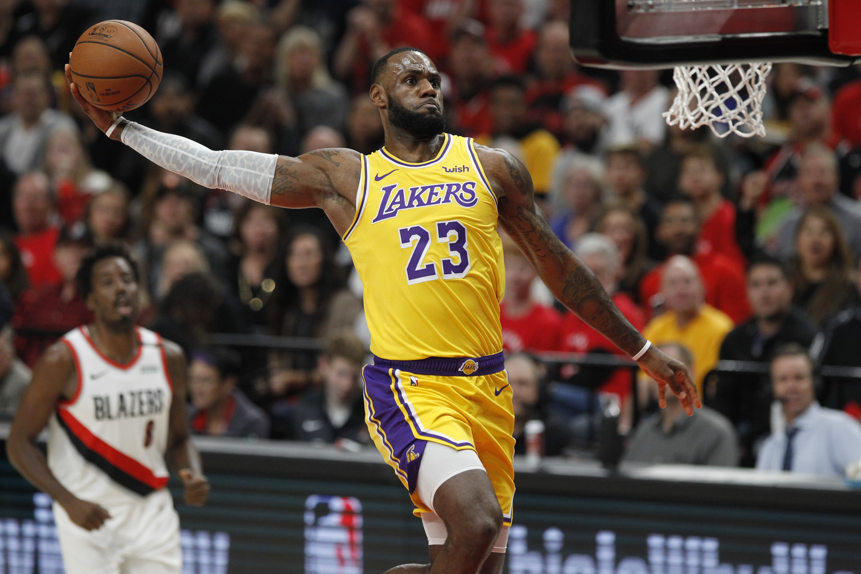 Lebron James Lakers Wallpapers: Los Angeles Lakers HD Wallpaper