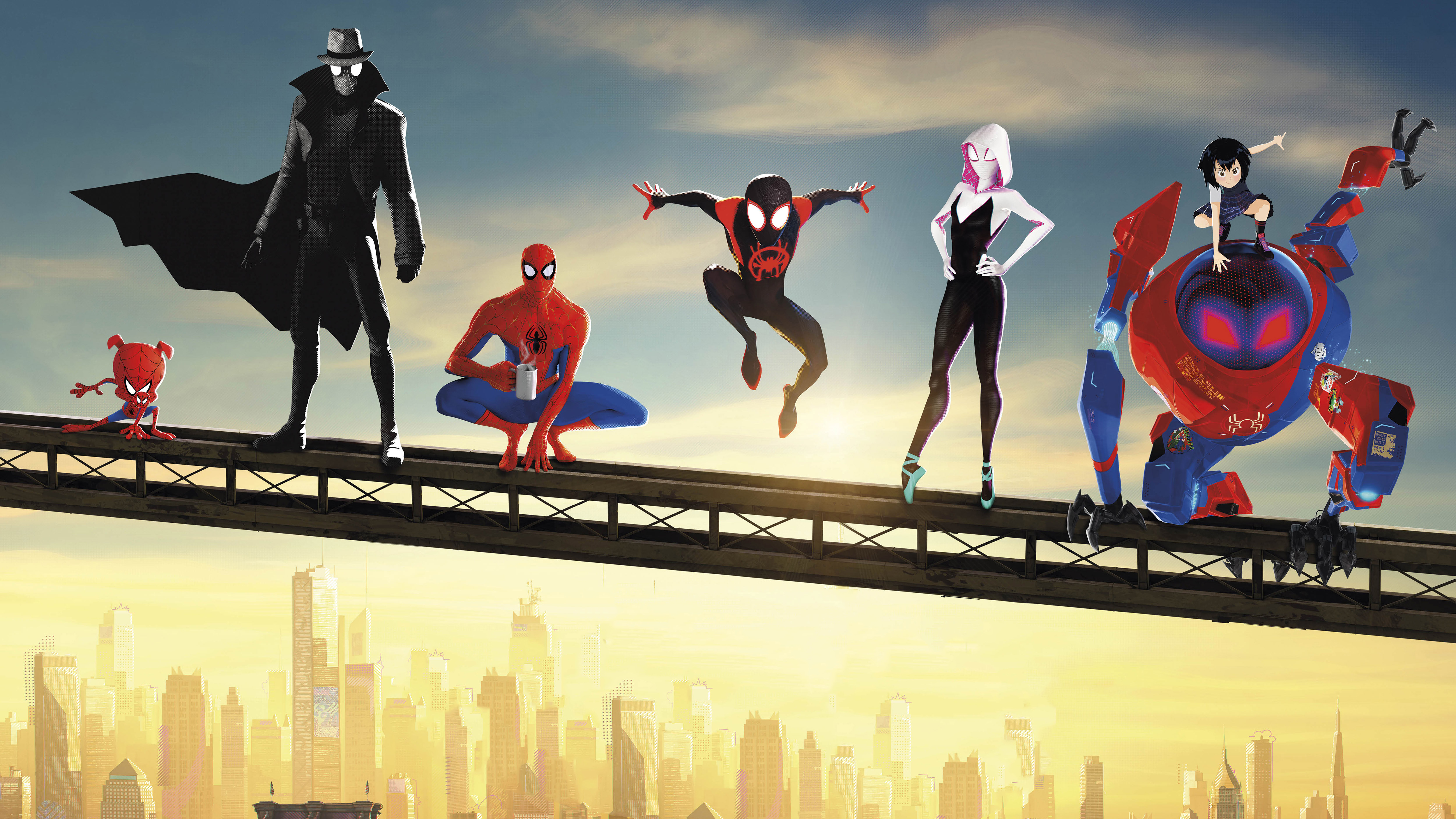 Spider Man Into The Spider Verse 4k Ultra Hd Wallpaper