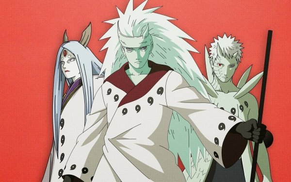 Anime Naruto Kaguya Ōtsutsuki Madara Uchiha Obito Uchiha Fondo de pantalla HD   Fondo de Escritorio