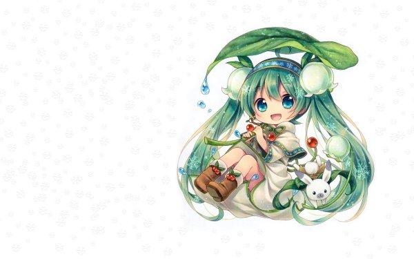 Anime Vocaloid Hachune Miku HD Wallpaper | Background Image