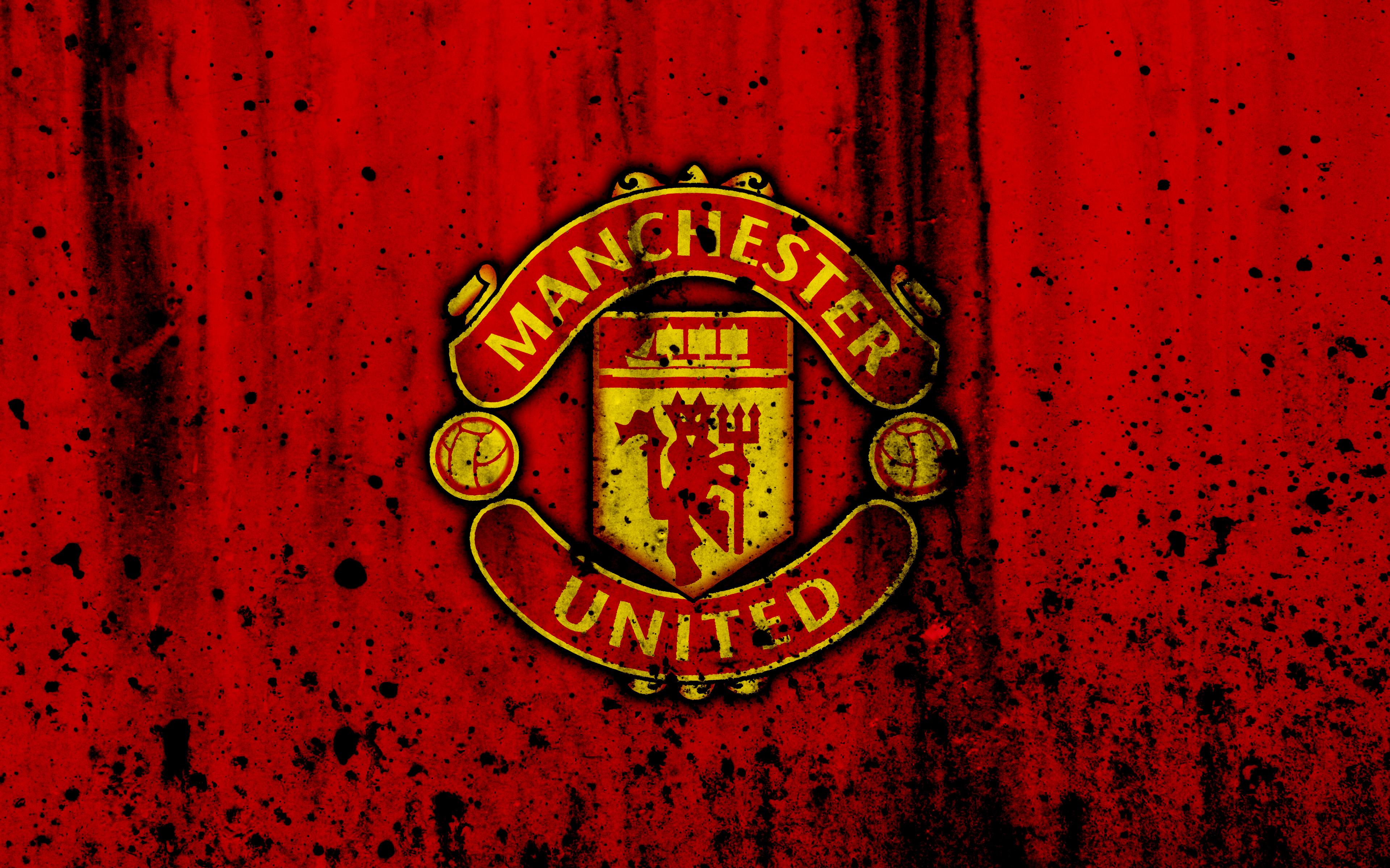 Manchester United Logo 4k Ultra Fondo De Pantalla Hd Fondo