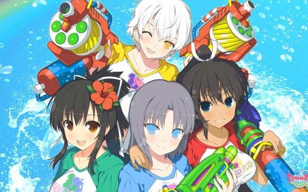 Video Game SENRAN KAGURA Peach Beach Splash Senran Kagura HD Wallpaper   Background Image