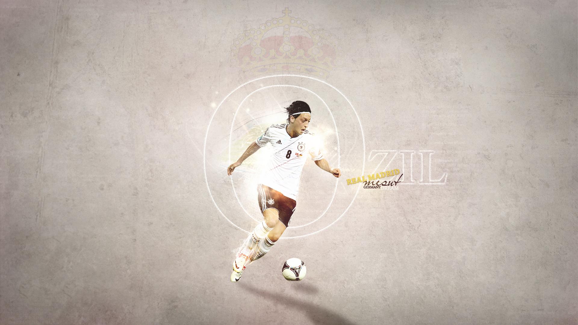 Mesut Özil - Germany HD Wallpaper
