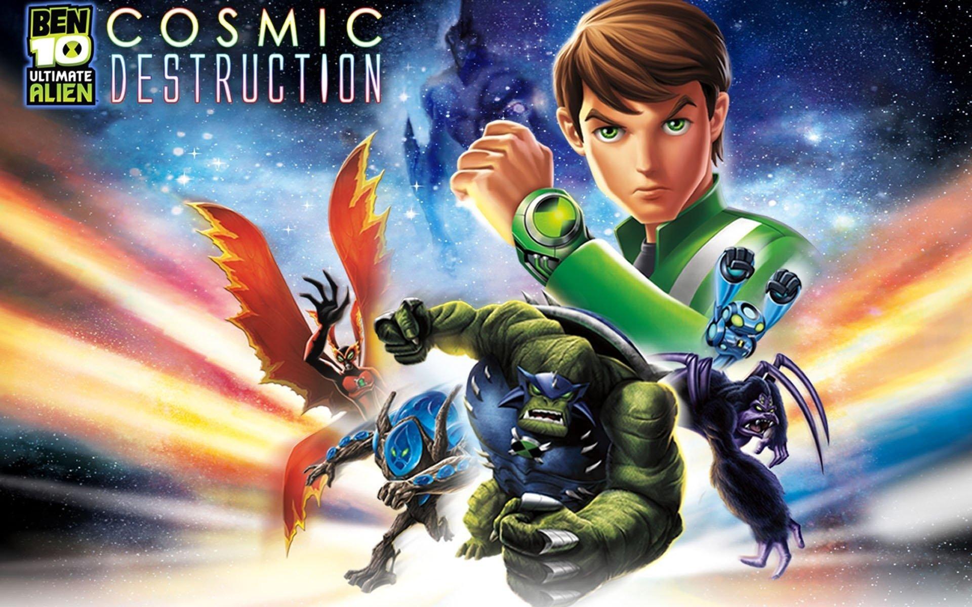 1 Ben 10 Ultimate Alien Cosmic Destruction Hd Wallpapers